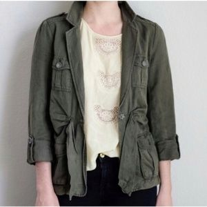 Cartonnier Anthro Nepal Green Utility Jacket 10